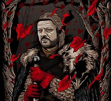 Eddard Stark by denisosulli