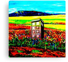 Tardis Enchanting Canvas Print