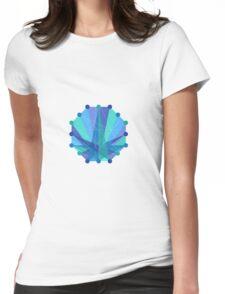 Crisscross Octagon Womens Fitted T-Shirt