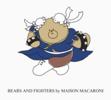 BEARS and FIGHTERS - Chibi Chun Li by MAISON-MACARONI