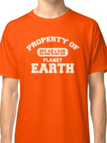 Property of Earth (Classic Aged) Classic T-Shirt