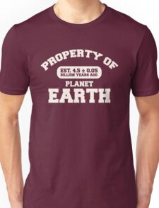 Property of Earth (Classic Aged) Unisex T-Shirt
