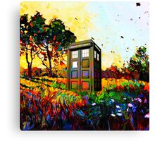 Tardis A Beauty Canvas Print