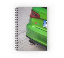 Java Green S3 Spiral Notebook