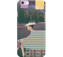 woman by road iPhone Case/Skin