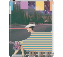 woman by road iPad Case/Skin