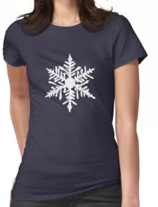 Snowflake(s) Womens Fitted T-Shirt