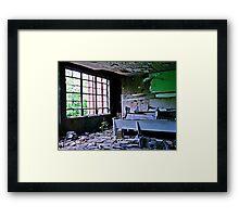Try Rebooting Framed Print