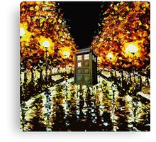 tardis - cool Canvas Print