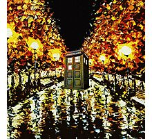 tardis - cool Photographic Print