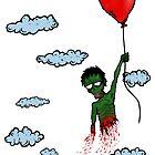 Zombie Balloon by zombiemama