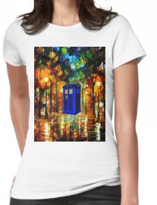 TARDIS DR WHO Womens Fitted T-Shirt