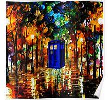 TARDIS DR WHO Poster
