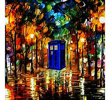 TARDIS DR WHO Photographic Print