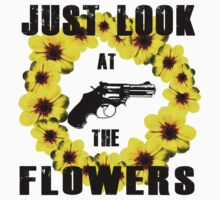 Look At The Flowers Kids Tee