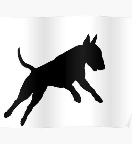 Bull Terrier (Hucklebutt!) Poster