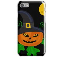 Halloween pumpkin  iPhone Case/Skin