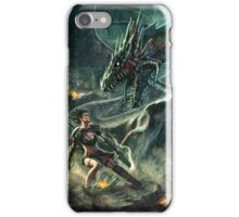 Face a Dragon by Charro iPhone Case/Skin