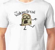 Walking Bread Unisex T-Shirt