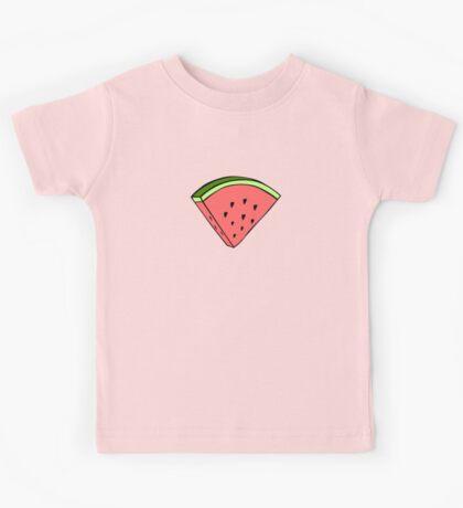 Watermelon Dress Kids Tee