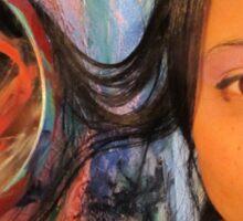 Third Eye by Darryl Kravitz  Sticker