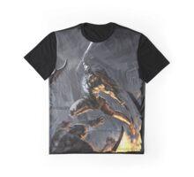 """Swords Storm"" Artwork by CHARRO Graphic T-Shirt"