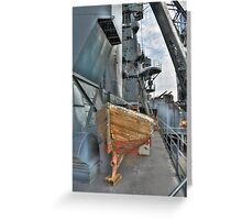 Lifeboat, Battleship Texas Greeting Card