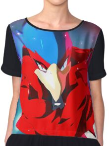 MELEE | Falco - Red Chiffon Top