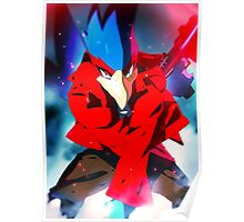 MELEE | Falco - Red Poster