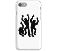 Zombies Silhouette iPhone Case/Skin