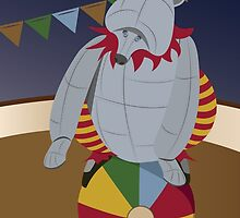Alphabet Circus: B is for Balancing Bear-bot by Rumpleshark