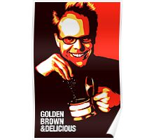 Alton Brown - Golden Brown and Delicious - Good Eats Poster