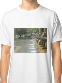 Fountain at Copley Place Boston Classic T-Shirt