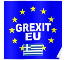 Grexit Greece leave EU Poster