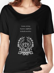 Grey Warden Motto Dragon Age Women's Relaxed Fit T-Shirt