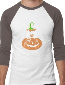Love Pitbull - Too cute to spook Tshirt Men's Baseball ¾ T-Shirt