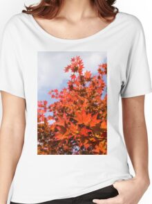 Mapleleaf Patterns - VL Women's Relaxed Fit T-Shirt