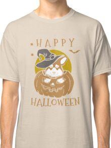 Love Corgis love halloween Tshirt Classic T-Shirt