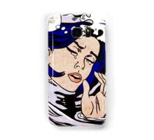 Roy Lichtenstein - Drowning Girl Samsung Galaxy Case/Skin