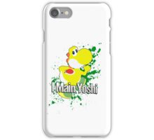 I Main Yoshi (Yellow Alt.) - Super Smash Bros. iPhone Case/Skin