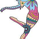 Modern dancer by Marishkayu