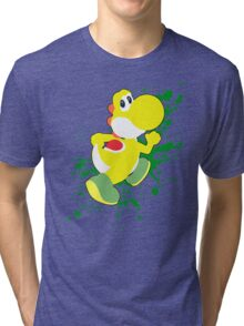 Yoshi (Yellow Alt.) - Super Smash Bros. Tri-blend T-Shirt