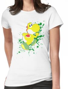 Yoshi (Yellow Alt.) - Super Smash Bros. Womens Fitted T-Shirt