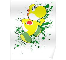 Yoshi (Yellow Alt.) - Super Smash Bros. Poster