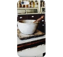 Mortar and Pestle in Apothecary iPhone Case/Skin