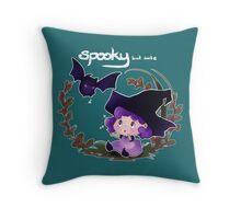 Spooky but cute - Babyhex Throw Pillow