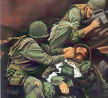 Vietnam Marines  by Neil Thornton
