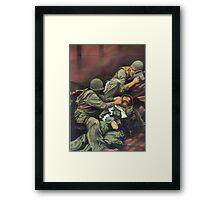 Vietnam Marines  Framed Print