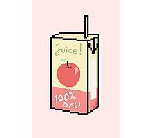 Apple Juice Box Photographic Print