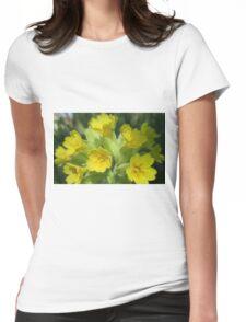 Scandinavian Cowslips Womens Fitted T-Shirt